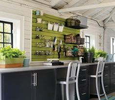 Cool!! This is a garage but I want to do in my craft room