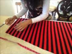 HOW TO SEW EASY 5 MIN MAXI SKIRT