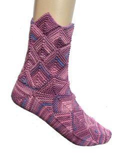 Fairytale socks purple, cotton, Meilenweit, , size EU 39-41, US 9-10, UK 7-8 door Carolinevantveer op Etsy