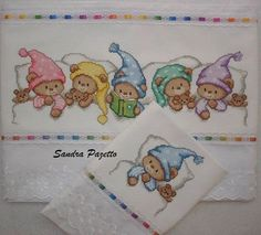 ru / Φωτογραφίες # 1 - ursos p - sandrapazetto Cross Stitch For Kids, Cross Stitch Borders, Cross Stitch Baby, Cross Stitch Charts, Cross Stitch Designs, Cross Stitching, Cross Stitch Embroidery, Embroidery Patterns, Hand Embroidery