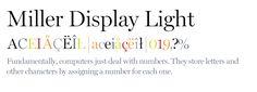 Miller Display Light - Fonts.com