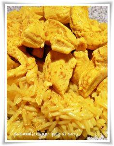 Pollo al curry e riso basmati  http://www.svolazzi.it/2013/04/pollo-al-curry-con-riso-basmati-chicken.html