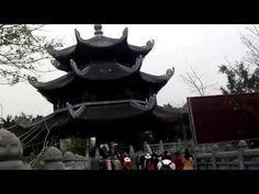 Cảnh đẹp ở chùa Bái đính