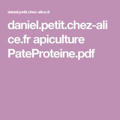daniel.petit.chez-alice.fr apiculture PateProteine.pdf