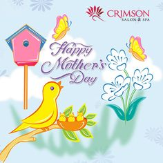 Forget everything today!     Make your mom feel that she is the most special person in your life!     ***Contest*** Send us a picture of you with your mom, and the winners get a lovely surprise from us! We are waiting..    Crimson Salon and Spa wishes all the beautiful mothers a very 'Happy Mother's Day'!