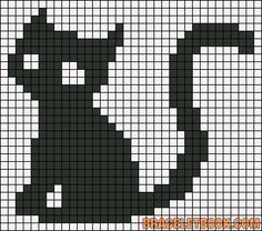 Alpha friendship bracelet pattern added by gato gatos colores animales amor. Mini Cross Stitch, Cross Stitch Charts, Cross Stitch Designs, Cross Stitch Patterns, Fall Knitting Patterns, Knitting Charts, Baby Knitting, Crochet Quilt, Tapestry Crochet