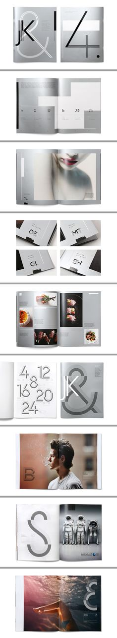 JK& Magazine: Publication and website for a photography agency