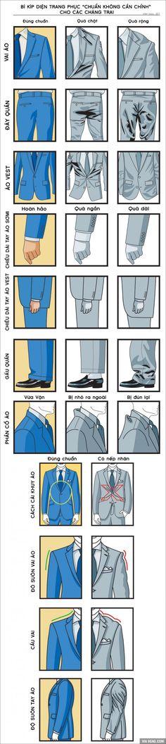 """[Bạn biết chưa] Bí kíp giúp các chàng diện trang phục """"chuẩn không cần chỉnh"""""""