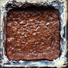 chewy, crackly (teff) brownies