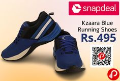 Snapdeal is offering 65% off on Kzaara #Blue #Running #Shoes Just at Rs.495. Features Lightweight, Upper Material Mesh/Textile, Inner Material Canvas, Insoles EVA, Sole Material EVA. Shoe Weight Medium, Weight (600 gms to 999 gms).   http://www.paisebachaoindia.com/kzaara-blue-running-shoes-just-at-rs-495/