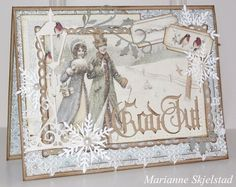 A christmas card by Marianne