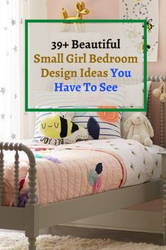 39+ Beautiful Small Girl Bedroom Design Ideas You Have To See #bedroomdesignideas Bedroom Design, Bed, Girls Bedroom, Small Girls Bedrooms, Bedroom Decor, Bedroom Diy, Girl Room, Toddler Bed, Bedding Collections