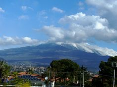 Mount Etna in the morning