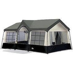 Northwest Territory Olympic Cottage - gotta love a tent thats called a   cottage   sc 1 st  Pinterest & 10 Person Cabin Tent 2 Room Family Sleeps Camping Hiking Outdoor ...