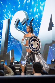 Being able to represent your country at an international competition is definitely an honor only a few are privileged to have. After months of preparation and designing, each woman gets to rock her style on the international stage representing her country in her own unique way.  The Miss Universe 2016 contestants really rocked the National Costume Show this year and showed their pride in their home countries so well. These are some of the amazing costumes worn by the beautiful contestants…
