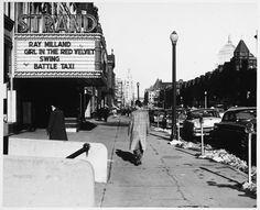 Boston, 1950s.