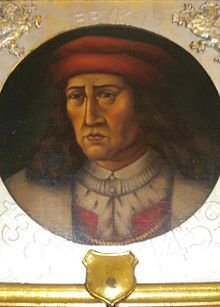 """Eric of Pomerania (Germany) (1381/1382 - 1459). King of Denmark from 1396 to 1439, when he was deposed. He was King of Norway from 1389 to 1442. He was King of Sweden from 1396 to 1439. He married Philippa of England, but had no children. He was the only King of Denmark from the House of Pomerania. The first king of the Nordic Kalmar Union, he spent his last years living on the island of Gothland and """"sent forth piratical expeditions against friend and foe alike""""."""