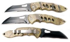 Cool! :)) Pin This & Follow Us! zCamping.com is your Camping Product Gallery ;) CLICK IMAGE TWICE for Pricing and Info :) SEE A LARGER SELECTION of pocket knives at http://zcamping.com/category/camping-categories/camping-knives-and-tools/pocket-knives/ -  #hunting #camping  #campingknives #campinggear  #campingaccessories - QTY: 3 NEW TACTICAL HUNTING POCKET KNIFES KNIFE SET « zCamping.com