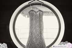 Disney Cruise Line Castaway Cay Wedding - Porthole Wedding Dress
