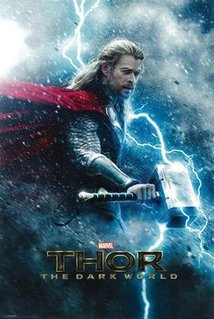 Thor: The Dark World Comic-Con Panel Recap. Our recap of the Comic-Con panel for Marvel's Thor: The Dark World with Chris Hemsworth. Chris Hemsworth, Marvel Universe, Films Marvel, Thor Wallpaper, New Thor, World Movies, Kino Film, Movie Posters, Flims