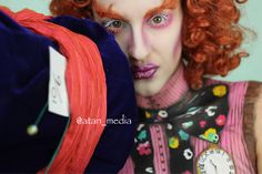 Gender Swap Disney  This is our Mad Hattress. We had so much fun with this. #madhatter #aliceinwonderland #genderswapdisney #genderswap #disney  #bodyart  #painting  #halloween #bodypaint #facepaint #mua #specialeffectsmakeup #arttherapy #sfxmakeup #art #artist #atanmedia #otherskin #atanmedia #photography #photograph #photographer #photoshoot #closeup #mehron #paradisepallet @mehronmakeup @urbandecaycosmetics #urban #electricpallet