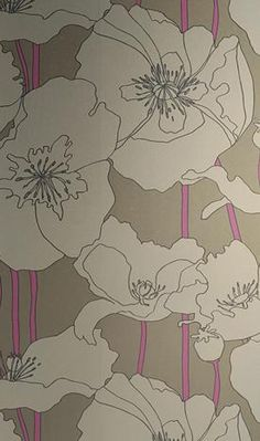 EdytaDesigns: Wallpaper - HOTHOUSE BY SUZY HOODLESS Arizona Wallpapers From Osborne and Little - wallpaper, floral