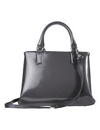 Grosse Henkel-Handtasche aus echtem Leder mit Bodenfüssen. #madeleinefashion Clutch, Shopper, Bags, Fashion, Beautiful Models, Fall, Women's, Handbags, Moda