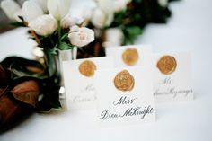 Cottage Confidential - Elegant Calligraphy Escort Cards with a Custom Seal Wedding Wishes, Wedding Blog, Wedding Cards, Our Wedding, Wedding Ideas, Wedding Decor, Wedding Planning, Dream Wedding, Nature Inspired Wedding