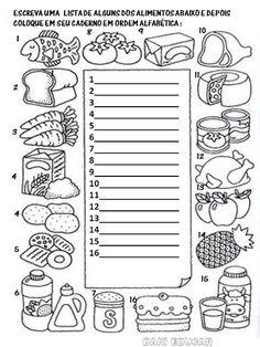 Literacy Activities: Food – The World Spanish Classroom Activities, Preschool Spanish, Teaching Spanish, Literacy Activities, Preschool Crafts, Activities For Kids, Activity Sheets For Kids, Spanish Worksheets, Kids English