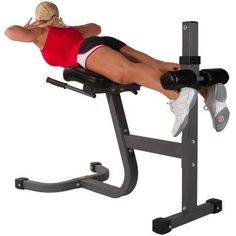 The multiple height adjustable XMark Roman Chair Back Hyperextension uses your own body weight for resistance to sculpt and build your hips, hamstrings, glutes, back and abdominals. Extra thick Duracraft padding and oversized Best Home Gym Equipment, No Equipment Workout, Dip Station, Best Treadmill For Home, Roman, Exercise Bike Reviews, Hips Dips, Tricep Dips