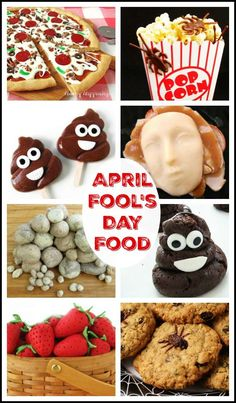 Have some fun on April Fool's Day by serving your family and friends meals or snacks that look like one thing but are indeed another. You'll have as much fun making these April Fool's Day recipes as your family will have eating them. April Fools Pranks, April Fools Day, Holiday Treats, Holiday Recipes, Fun Recipes, Yummy Snacks, Delicious Desserts, Cookies And Cream Fudge, Best Party Food