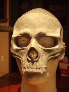 Skull Mask Blank by RavenKingRelics on Etsy, $58.00