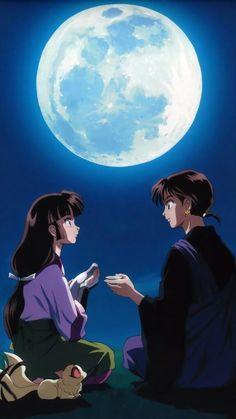 Manga Anime, Old Anime, Otaku Anime, Anime Art, Miroku, Kagome Higurashi, Personajes Studio Ghibli, Kagome And Inuyasha, Naruto Fan Art