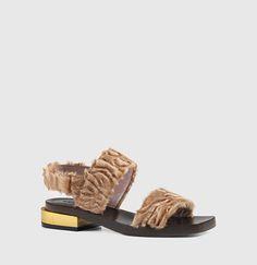Gucci - Querelle Slingback Sandal 402732LLI005725