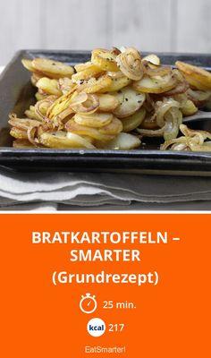 Bratkartoffeln – smarter - (Grundrezept) - smarter - Kalorien: 217 Kcal - Zeit: 25 Min. | eatsmarter.de