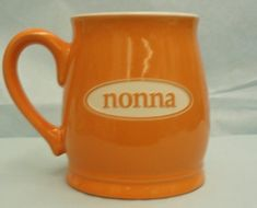 Nonna Ceramic Mug in Tangerine 15 ounce *** Check this awesome product by going to the link at the image.