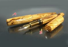 Sale Special LONG BODY Fountain pen Closed ends by ZmanCustomPens