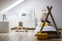 Łóżko drewniane Mila TP 90x190cm - Mila TP - Łóżka domki