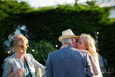 Wedding at St Enodoc Church - with a Yurt reception in Cornwal - by Chris Giles Photography