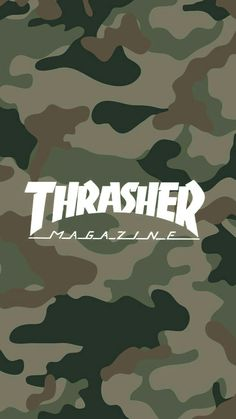 #army #thrasher #wallpaper