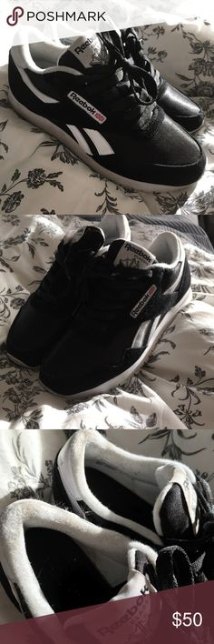 Reebok Royals Athletic Shoes Reebok Royals Athletic Shoes in Black. Worn a handful of times. Reebok Shoes Athletic Shoes