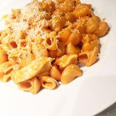 One pot pasta crémeux poulet - sauce tomate