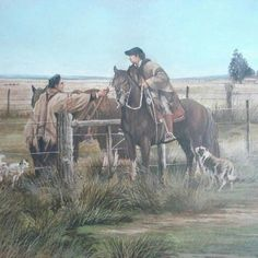 Obra de José Acuña 🖌️👌  #gaucho #art #dibujo #dibujosgauchos #argentine #argentina #argentinian #horse #drawing #painting #paint #criollo #crioulo #prendascriollas #prendasgauchas #peon #brasilian #brazil #brasil #riograndedosul