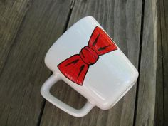 Doctor Who bowtie mug...