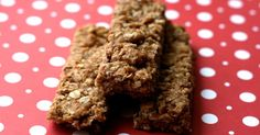Homemade Granola Bars Recipe Breakfast and Brunch, Lunch, Snacks with rolled…