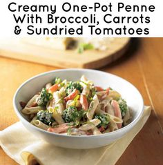 21 Simple One-Pot Pastas:  http://www.pamperedchef.com/recipe_search/recipe.jsp?id=78235