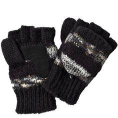 Isotoner Chunky Knit Convertible Fingerless Gloves