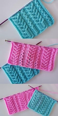 Discover thousands of images about Best Beautiful Easy Knitting Patterns - Knittting Crochet - Knittting Crochet Knitting Terms, Knitting Stiches, Knitting Blogs, Knitting Kits, Easy Sweater Knitting Patterns, Intarsia Knitting, Easy Knitting, Cross Stitch Pattern Maker, Stitch Patterns