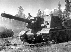ИСУ-152 КАРЕЛЬСКИЙ ФРОНТ 1944 г.