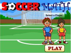 One-Step Equations Game is a fun math soccer game that middle school students can play online to practice solving one-step equations with addition and subtraction. Soccer Theme, Math Games, Math Activities, One Step Equations, Preschool Education, Math Practices, Soccer World, Educational Websites